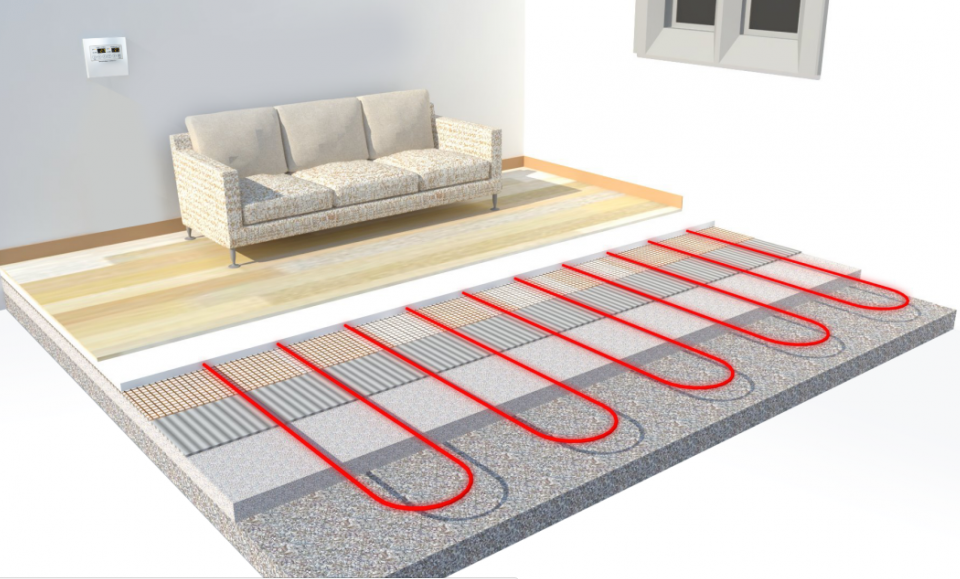underfloor heating cyprus
